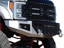 100 Truck Front Bumpers 20172019 F250 F350 Super Duty Fusion OffRoad Bumper 17FORDFB