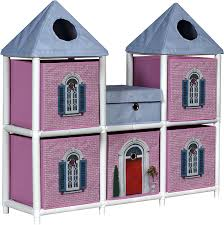 100 Storage Unit Houses OneSpace 100 Recycled Paper Fantasy House Kids Pink And Blue