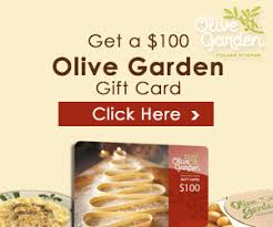 Free Olive Garden Gift Card