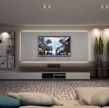 inspirierte tv wand wohnzimmer ideen 45 diy haus