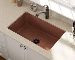 33x22 Single Bowl Kitchen Sink by 903 Single Bowl Copper Sink