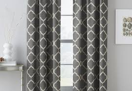 Kohls Blackout Curtain Panel by Curtains Trellis Curtains And Kohls Curtains Amazing Grey