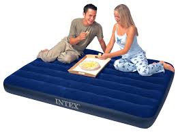 Intex Inflatable Sofa Uk by Intex Double Size Classic Downy Airbed Only Airbeds Co Uk