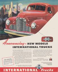 1947 International Harvester Trucks: New Models Vintage Print Ad | EBay 1933 Intertional Trucks Chicago World Fair Century Of Progress Nice Old Truck 1955 Intertional R112 Pickup Driving America Through My Windshield Life In A And Thats The Truth Frank Gripps Twengin Hemmings Daily Ads From The Coes Cab Over Engine Navistar And Volkswagen Bus Reach Deal Business Intertional Aerostar Filtre Studio Arstic Retouching Cgi Vintascope 1960 Then You Slap In V8 Il For Sale Used On Postcard Chicago Century Of Progress Harvester Cfd 12 Area Fire Departments 1960s Advertisement Advertising Harvester Trucks