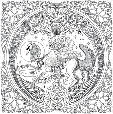 Free Celtic Mandala Coloring Pages