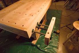 low profile bench vice to use with bench dogs woodworking talk