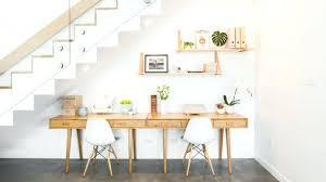 fabriquer un bureau avec des palettes comment fabriquer un bureau fabriquer bureau sous escalier ac