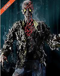 Spirit Halloween Animatronic Mask by 6 U0027 Smoldering Zombie Animatronic Halloween Pinterest