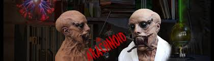 Funny Halloween Half Masks by The Ultimate Silicone Masks Realflesh Masks