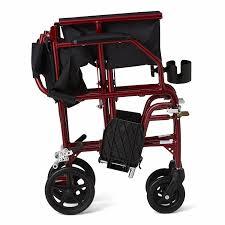 Transport Chair Walmart Canada by Amazon Com Medline Ultralight Transport Chair 19