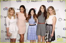 Pretty Little Liars 2014 Halloween Special by Lucy Hale U0026 Troian Bellisario U0027pretty Little Liars U0027 Hit Paleyfest