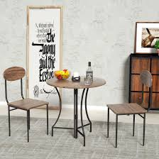 Details About 3 Piece Vintage Foldable Round Dining Table Set With 2 Chairs  Wood Top Brown Cm3556 Round Top Solid Wood With Mirror Ding Table Set Espresso Homy Living Merced Natural Wood Finish 5 Piece East West Fniture Antique Pedestal Plainville Microfiber Seat Chairs Charrell Homey Design Hd8089 5pc Brnan Single Barzini And Black Leatherette Chair Coaster 105061 Circular Room At Hotel Hershey Herbaugesacorg Brera Round Ding Table Nottingham Rustic Solid Paula Deen Home W 4 Splat Back Modern And Cozy Elegant Sets