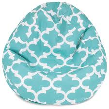 trellis bean bag chair upholstery teal http delanico com bean