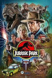 Artwork Poster For Jurassic Park Credits Kyle Lambert