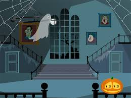 Inside A Haunted House Clipart