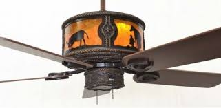 Mica Lamp Company Ceiling Fans by Copper Canyon Sheridan Bronze Ceiling Fan Rustic Lighting And Fans