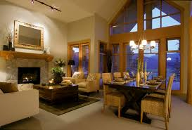 Great Room Design Ideas Houzz Rustic Fireplace