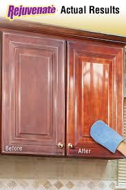 Cabinet Refinishing Kit Before And After by Rejuvenate Cabinet U0026 Furniture Restoration Kit