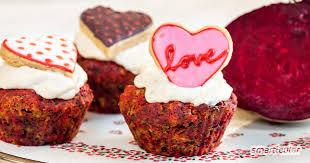 rote bete muffins einfaches rezept zur verwertung der winterknolle