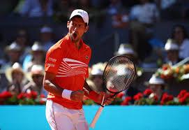 100 Novak Conversions Djokovic Tops Dominic Thiem 76 76 To Reach Madrid Final