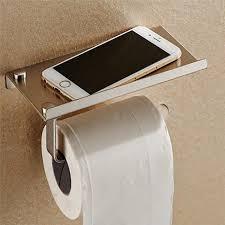 support a papier de toilette porte papier toilette porte papier support de téléphone en inox