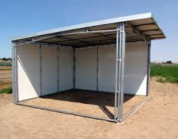 Metal Loafing Shed Kits by Portable Horse Shelter Kits Pictures Of Horses
