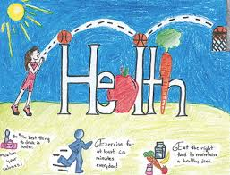 A Winning Design From The DOEs 2012 School Wellness Poster Contest