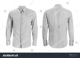 formal shirt button down collar isolated stock photo 646246522