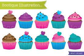pin happy birthday cupcake clipart 8