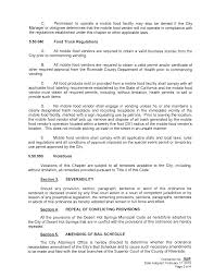 ORDINANCE NO. 5G3 AN ORDINANCE OF THE CITY COUNCIL OF THE CITY OF ... Truck Or Treat October 26 2018 Larkin Square New San Diego Food Rules Could Cripple Industry Orlando Hamper Recent Growth Cadian Festivals Study How Overregulation Is Stifling The Food Truck Revolution Sec 22500 Definitions Pima County Regulations Cook Tucson Time To Reform Chicagos Awful Rules Chicago Libertarian Propane And Fire Safety Mexico Nmra Live On The Green Festival Info