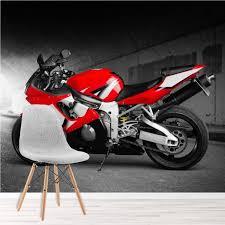 motorrad fototapete motorsport tapete jungen schlafzimmer foto inneneinrichtungen