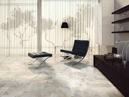 Good Looking Flooring Ideas For Living Room Featuring White Marble