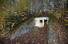 The First World War Lettenberg Bunker Is Situated In Kemmel Belgium