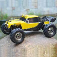 100 Waterproof Rc Trucks Yellow Eu HBX 12891 112 24G 4WD Desert Truck OffRoad