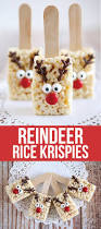 Rice Krispie Christmas Trees Recipe by Reindeer Rice Krispie Treats Rice Krispies Rice And Recipes
