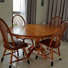 Beautiful Solid Oak Wood Dining Table And 4 Chairs Set Original Vintage Ercol Chairs And Oak Table In Charnwood Fr Excellent Antique Round Ding Room Table Fniture How To Pick The Right Chair Size Style Chairs Casters Home Design Ideas Set Beautiful Richmond Extending 4 Reclaimed Ding With Assorted Tips For Pating A A Mess 33 Best Kitchen Tables Modern 40 Glass To Revamp With From Rectangle Solid Oak 5x3ft Monks Bench 20 55 Decorating Designs