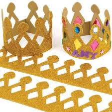 decoration galette des rois couronne des rois pour enfants à imprimer à découper et à décorer