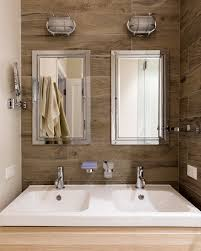 lighted medicine cabinet bathroom contemporary with bathroom black