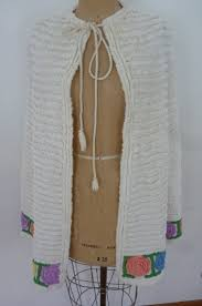 Chenille Bed Jacket by Vintage Chenille Cape 50 U0027s Swim Suit Cover Up Chenille Bed Jacket