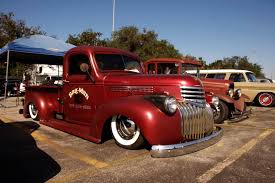 100 41 Chevy Truck 19 Slammed By The Bag Man Hotrod Resource