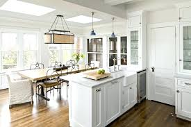 Country Kitchen Pendant Lighting Traditional Farmhouse Dining Room With Cabinet Ideas Modern Lights