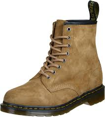 martens 1460 soft buck boots brown