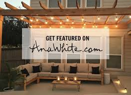 Ana White Firewood Shed by Outdoor Ana White Woodworking Projects
