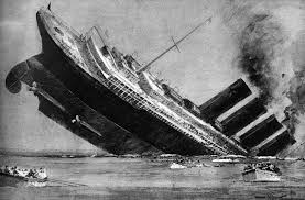 extra lusitania torpedoed by german submarine the great war