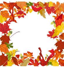 Seasonal Fall Borders Clipart 1