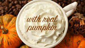 Pumpkin Spice Latte Dunkin Donuts Ingredients by Starbucks U0027 Pumpkin Spice Latte Will Be Made With Real Pumpkin
