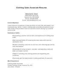 Fashion Sales Assistant Sample Resume