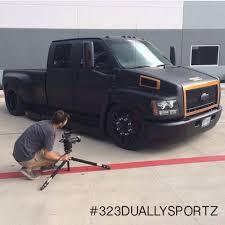 Big Corey's Little Truck. C4500 CHEVY On 26