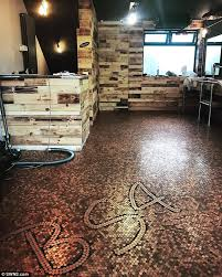 Tiny Tower Floors Limit by West Midlands Barber Covers Floor With 70 000 1p Pieces Daily