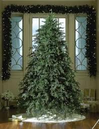 75 Flocked Christmas Tree by 6 5 U0027 Pre Lit Flocked Alaskan Artificial Christmas Tree